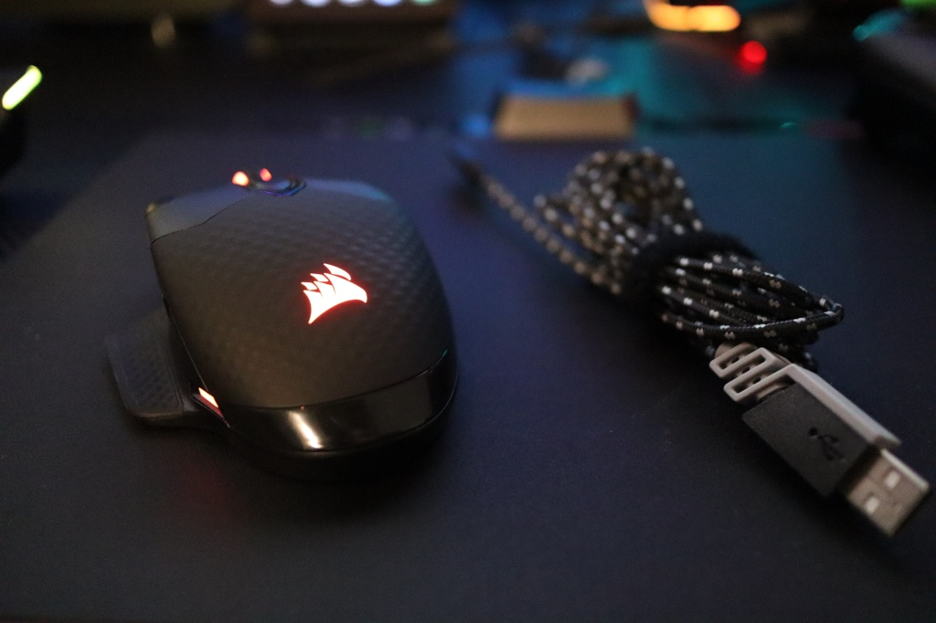 コルセア マウス 有線接続用ケーブル