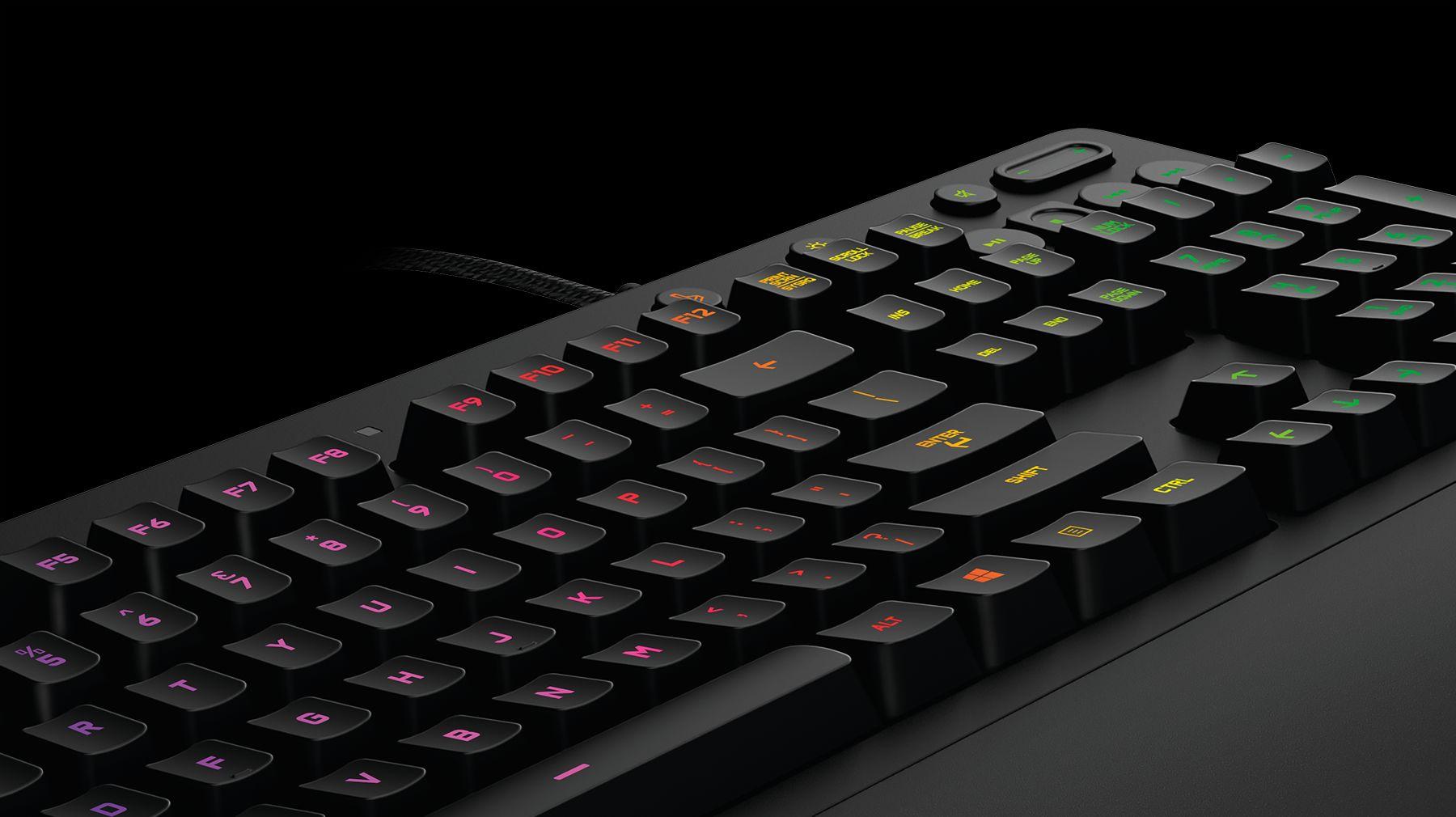 G213PRODIGYRGBキーボード 斜め上
