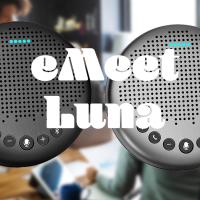 【レビュー】eMeet(イーミート) Luna(ルナ)在宅ワーク・会議室でも使えるスピーカーフォン
