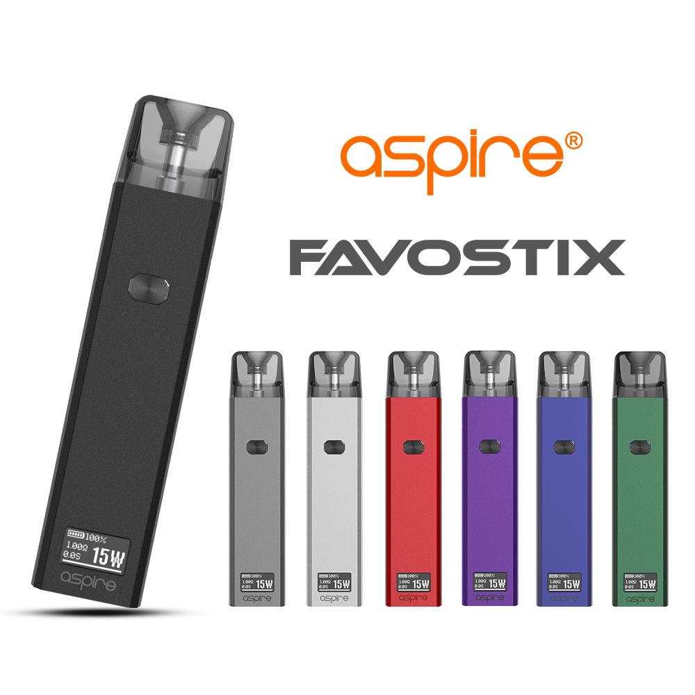 【予約受付中(全カラー)】Favostix(ファボスティックス)スターターキット 【Aspire(アスパイア)】