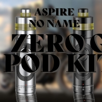 【VAPE】Aspire(アスパイア) x No Name(ノーネイム) Zero. G(ゼロジー) POD コラボキット レビュー
