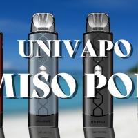 【VAPE】Univapo(ユニベポ) Miso POD(ミソポッド)レビュー