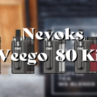 【VAPE】Nevoks Veego(ヴィーゴ) 80 Kit ステルス POD MOD  レビュー