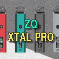 【VAPE】ZQ Xtal Pro(エクスタル プロ) Pod Kit レビュー